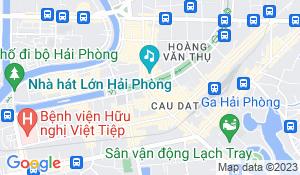 Haiphong Vietnam Map.Hai Phong Map